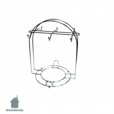 Подставка для кружек из стали с хромовым покрытием Арт. Е05