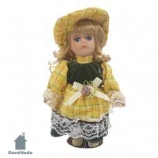 Кукла  декоративная из фарфора  Арт.8010