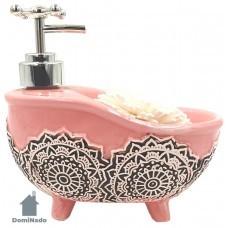 Дозатор для мыла из керамики  Арт.H01