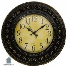 Часы настенные из пластмассы  Арт.10034