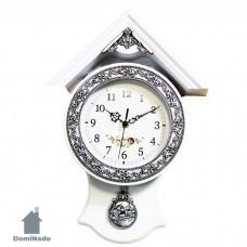 Часы настенные из пластмассы  Арт.6612
