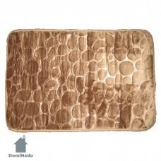 Коврик для ванной комнаты напольный из микрофибры  45*70 см. Арт.CVR-K