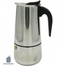Кофеварка гейзерная из коррозионностойкой стали  Арт.009