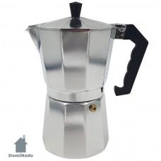 Кофеварка гейзерная из алюминия Арт.KPI-9