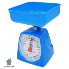 Весы кухонные бытовые механические из пластмассы  Арт.KCA-5KG