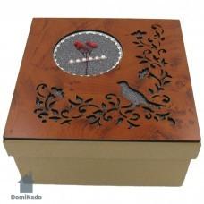 Коробка  подарочная из картона арт.10-1602-3