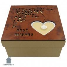 Коробка  подарочная из картона арт.10-1605-1