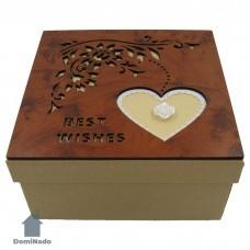 Коробка  подарочная из картона арт.10-1605-3
