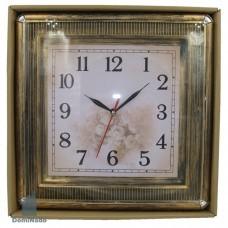 Часы настенные из пластм.  Арт. 3016