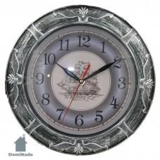 Часы настенные из пластм.  Арт. 3023