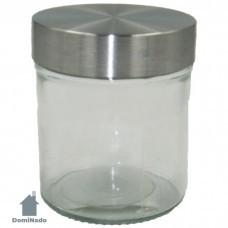 Емкость для сыпучих продуктов из стекла Арт.QR300