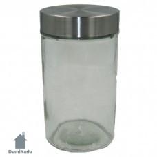 Емкость для сыпучих продуктов из стекла Арт.QR800