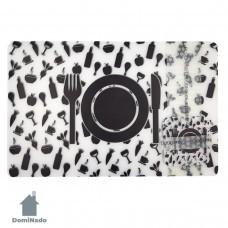 Набор подставок под столовую посуду  из ПВХ  Арт.KD6+6