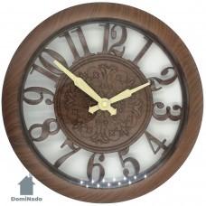 Часы настенные из пластмассы  Арт.3107